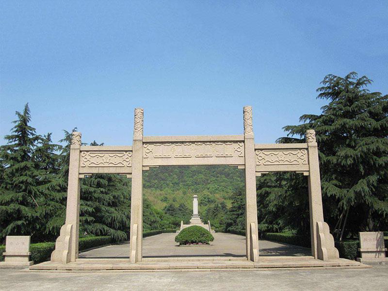 设计景区花岗岩石牌坊的要素