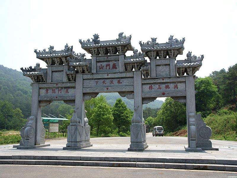 寺庙石牌坊的制作与安装