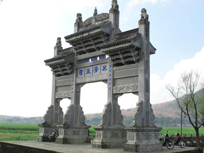 仿古石牌坊有哪些制作技艺?