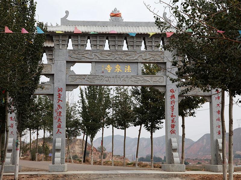 村莊寺廟石牌坊有什么區別?